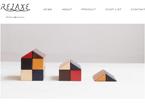 RELAXE/ブランドサイトの画像