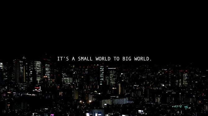 ビアメカニクス/企業プロモーションムービー『IT'S A SMALL WORLD TO BIG WORLD.』01の画像